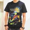 【博英社】魔物獵人3G-龍T恤(黑S)