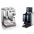 義大利進口 RANCILIO SILVIA 半自動 單孔家用 咖啡機 +原廠ROCKY分量器磨豆機