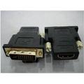 【世明國際】鍍金DVI轉接頭 DVI24+5公轉HDMI母 DVI轉HDMI轉接頭