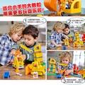 樂高得寶系列10813大型建筑工地吊車大顆粒拼裝積木玩具兒童2-5歲
