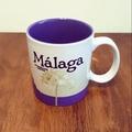 絕版西班牙馬拉加malaga星巴克城市杯馬克杯starbucks
