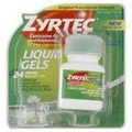[Direct from USA] Zyrtec Liquid Gels, 40 Tablets