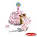 【寶貝樂園】美國瑪莉莎 Melissa & Doug  木製玩食趣三層蛋糕