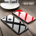Glass Case for OPPO R15 Pro Full Protection 9H Tempered Glass Back Cover for Oppo R15 Pro Casing Shell
