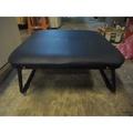 尚典中古家具(二手家具)~中古和室折疊皮椅(二手和室椅)~深藍和室折疊皮椅