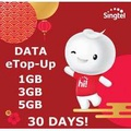 Singtel Prepaid Data E-Top Up