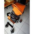 林利傘車嬰兒車手推車嬰兒推車迷你推車 基本款lh-984 輕量設計