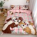 奇奇蒂蒂 松鼠兄弟 花栗鼠 床包 床包組 床包四件套 床罩