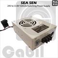 【中區無線電】SEA SEN 車用 電源供應器 降壓器 變壓器 24V 轉 13.8V 30A 台灣製造
