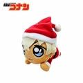 【日本正版】安室透 趴姿造型 玩偶吊飾 聖誕節裝扮 名偵探柯南 絨毛玩偶 吊飾 SEGA - 088473