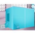 แอร์เคลื่อนที่ มุ้งแอร์+แอร์+ท่อลมร้อน ( ครบชุด ) 360วัตต์ ประหยัดไฟ Portable AirConditioners Sets QD65 360W 1200BTU