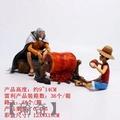 (琦奇)海賊/航海王 造型師 寫真家 冥王 雷利 路飛吃肉 場景坐姿手辦