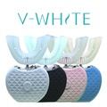美國V-WHITE免持變頻電動牙刷-粉紅色