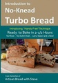 Introduction to No-Knead Turbo Bread: Ready to Bake in 2 1 2 Hours, No Mixer...no Dutch Oven... Just a Spoon and a Bowl