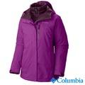 Columbia哥倫比亞-兩件式防水羽絨外套-女用(葡萄紫/UWL71690GT)