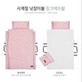 韓國 DONO DONO 2019 新版 雙功能3D墊 韓國製 兒童 四季睡袋  Pink Etoile 粉色點點