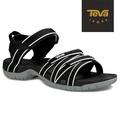 TEVA 美國 女 Tirra 機能運動涼鞋-US6黑白