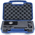 Life Made Better Storage Organizer - Compatible with RIF6 CUBE, LG MiniBeam, Syhonic S8, Pico Projector, InFocus IN1146 And Accessories - Durable Carrying Case - Blue - intl