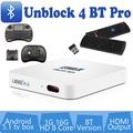 UNBLOCK Tech TV BOX Ubox Gen 4 Bluetooth 1G 16G Unblock PRO OS Unblock TW Taiwan model