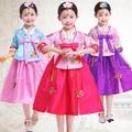 เด็กปักชุดฮันบกชุดเจ้าหญิงอนุบาลแห่งชาติเกาหลี STAGE Dance COSPLAY แพลตฟอร์มเครื่องแต่งกาย