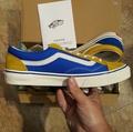 VANS Style 36 V 36 OG 寶藍色 黃色 撞色 陰陽 復古 限定款 帆布 麂皮 板鞋