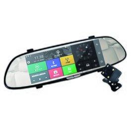 IS愛思 RV-06XW 7吋智慧導航後視鏡行車紀錄器