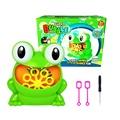 全自動青蛙泡泡機 彩盒款泡泡機+2個泡泡棒+螺絲刀