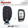 【2M2】HYUNDAI New Tucson New Santa fe 現代汽車 手工皮套 鑰匙套 鑰匙皮套 鑰匙包
