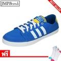 Adidas รองเท้าผู้ชาย รุ่น G53392  VLNEO BB LO รองเท้าเทนนิส  - สีฟ้า