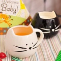 Creative Ceramic Cat Animal Coffee Cup Mug Water Milk Cup Couples Lovers Cup