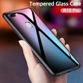 """OPPO R15 Pro Case """"HONG KONG Design"""" Luxury Fashion Tempered Glass Protector Casing for OPPO R15 Pro Glass Back Cover"""