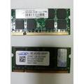 創見r 1GB DDR2 667  RAM+美商必恩威PNY 1GB    筆記型電腦用記憶體終身保固