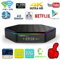 Original T95Z Plus Smart TV BOX 2GB/16GB 3GB/32GB Amlogic S912 Octa Core Android 7.1 TVBOX 2.4G/5GHz WiFi BT4.0 4K Set Top Box