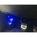 (柚子車舖) 豐田 CT200h PREVIA 腿部照明燈 地毯燈 迎賓燈 正廠車美仕套件 可到府安裝
