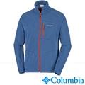 【美國Columbia哥倫比亞】男-刷毛外套-海軍藍 UAM30390NY
