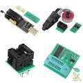 ❤SG❤ EEPROM BIOS USB Programmer CH341A + SOIC8 Clip + 1.8V Adapter + SOIC8 Adaptor Kit