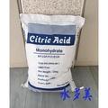 進口食品級檸檬酸25kg一袋有效去除頑固水垢.具備殺菌功能不侵蝕容器食用功能多多只賣2500元