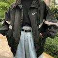 現貨【Nike】古著 反光 刺繡 logo 防水 教練外套 衝鋒衣 實拍 男女可穿