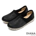 DIANA 輕。愛的--超輕量星星彈性舒適休閒鞋-銀5722-26