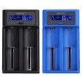 golisi i2 18650 2A鋰電池充電器兼容21700電池