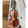 二手小提琴4/4美麗仿古軟漆(含:弓、配件及琴盒)