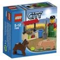 樂高 LEGO 7566 農夫 豬狗套組