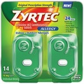 [Direct from USA] Zyrtec Allergy Relief (10 mg), 14 Tablets