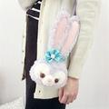 PGS7 日本迪士尼系列商品 - 迪士尼樂園 Stella Lou 史黛拉 兔兔 頭型 票卡夾【SGZ7678】