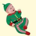 BABY107嬰幼兒男女聖誕寶寶造型服聖誕節外出連身套裝