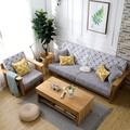 高密度海綿墊加厚加硬沙發墊布藝坐墊實木紅木飄窗墊坐椅墊子【生活小物】