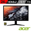 【acer】KG241Q 24型 FreeSync 電競螢幕