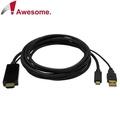 ╭☆台南PQS╮TypeC to HDMI 1.5公尺 視頻影像線 手機傳輸線 TYPEC TO HDMI+USB 4K