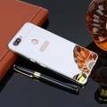OUYAN Luxury case for OPPO R11s plus Case Plating Mirror Aluminum Metal Frame Bumper +Hard PC Back Cover For OPPO R11s plus