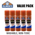 [ Elmer's ] Elmers Non-Toxic Washable School Glue Stick (5-Pack)